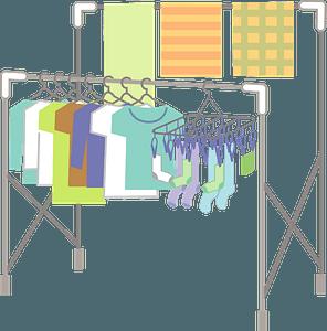 Washing Laundry clipart