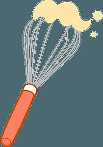 Whisk Cooking Utensil clipart