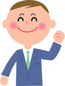 (Larry) White Collar Worker clipart