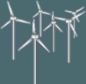 Wind Power Turbine clipart