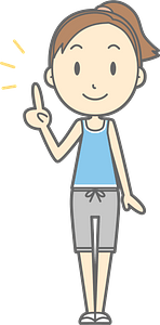 (Lisa) Woman Is Giving Advice clipart