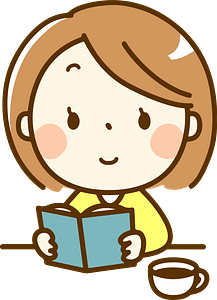 (Melissa) Woman Is Reading a Book clipart