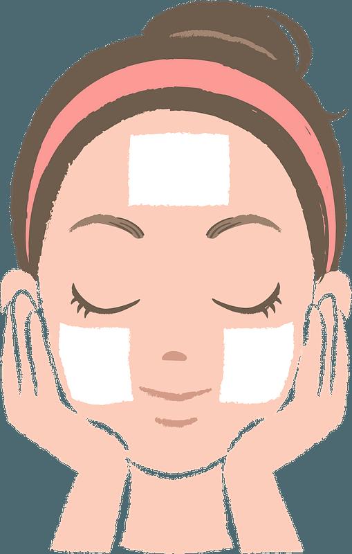 Woman Doing Skincare Clipart Free Download Transparent Png Creazilla