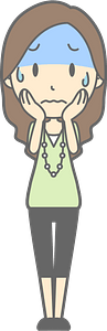 (Jenny) Troubled Woman clipart