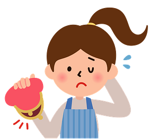 Woman Holding Wallet with No Money clipart