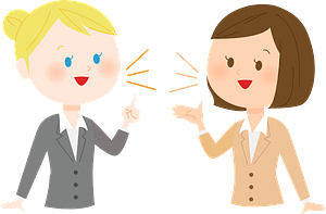 Women Speaking English clipart