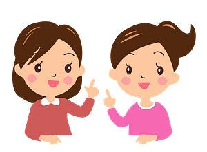 Women in Conversation clipart