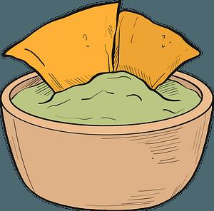 Nachos clipart