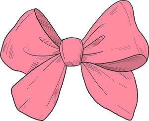 Pink Bow Tie Clipart