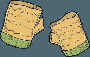 Mittens clipart