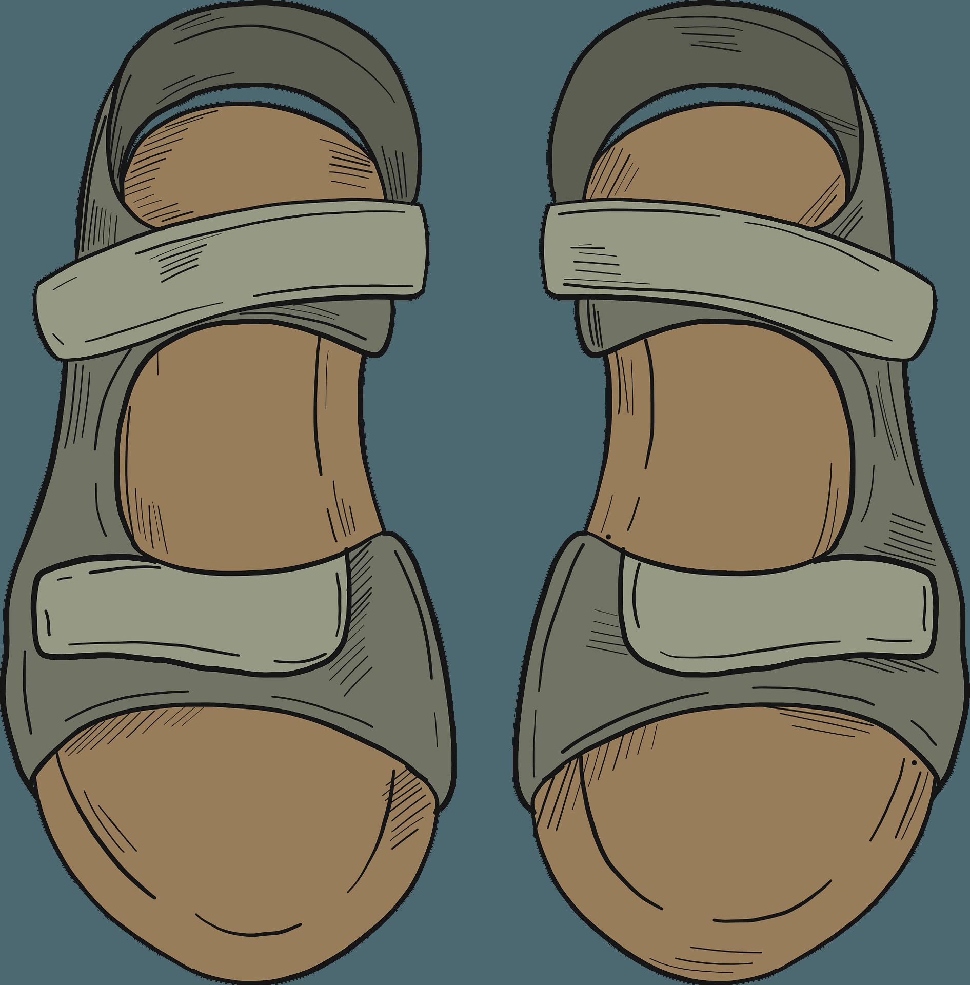 Sandals clipart. Free download transparent .PNG   Creazilla