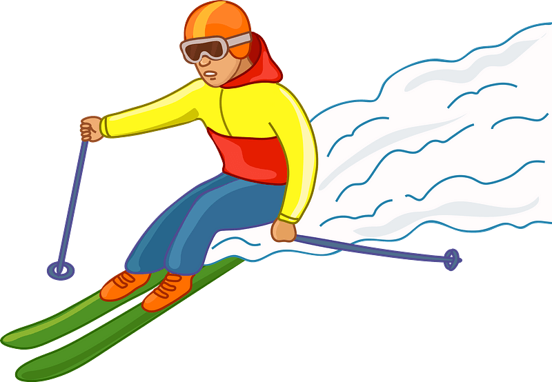 Skier Clipart Free Download Transparent Png Creazilla