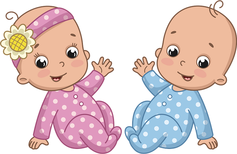 Twins Boy And Girl Clipart Free Download Transparent Png Creazilla