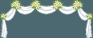 Wedding bunner clipart