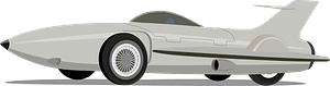 1953 General Motors Firebird 1 XP-21 clipart
