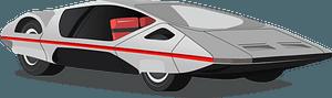 1970 Ferrari (Pininfarina) 512 S Modulo clipart