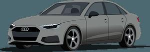 Audi A4 clipart