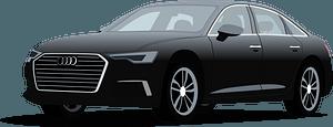 Audi A6 clipart