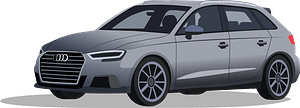 Audi S3 clipart