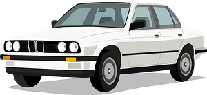 BMW e30 clipart