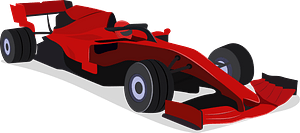 Ferrari F1 clipart
