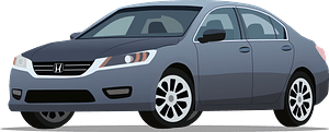 Honda Accord clipart