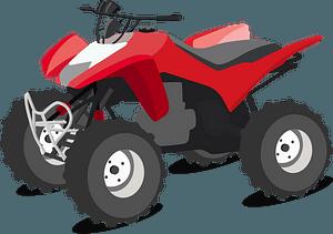 Honda ATV clipart