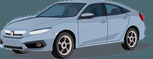 Honda Civic clipart