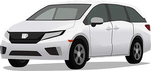 Honda Odyssey clipart