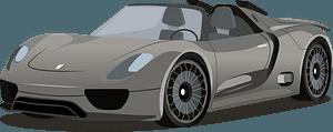 Porsche 918 Spyder Concept Car clipart