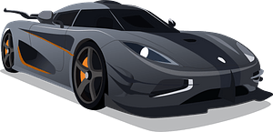 The Koenigsegg One:1 clipart