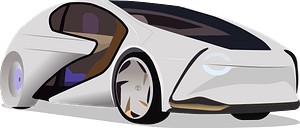 Toyota Concept-i clipart