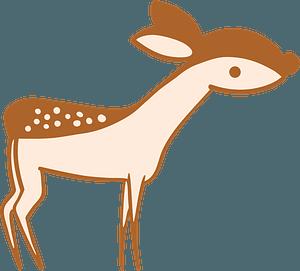 Little deer clipart
