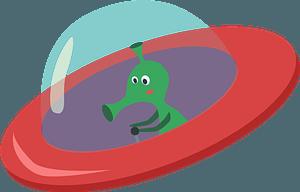 Alien clipart