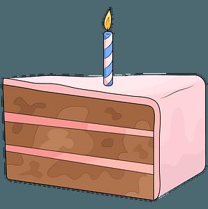 Geburtstagskuchen clipart