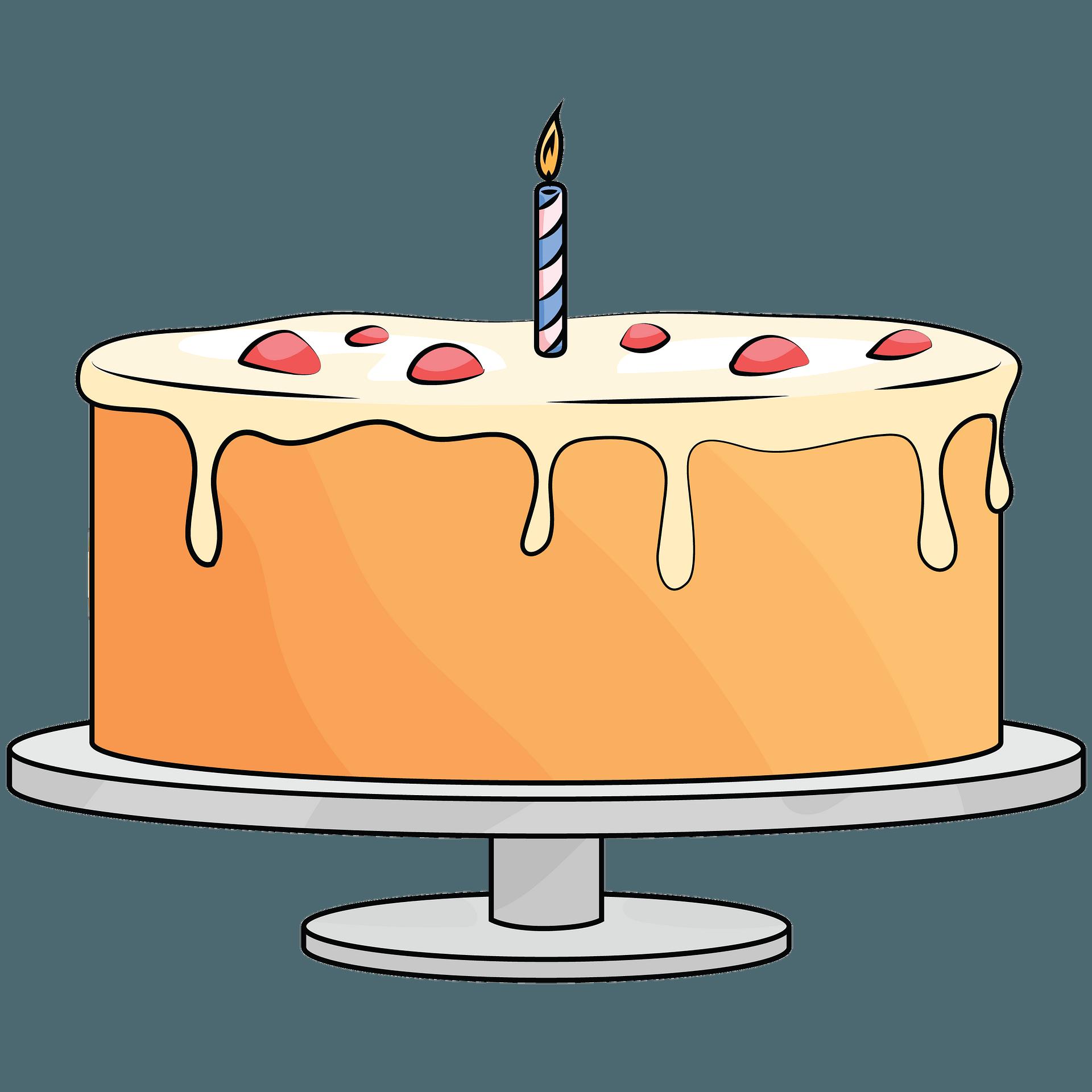 Clipart Zum Geburtstag Kuchen Zucker Kuchen Frosting Glasur