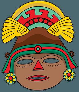 Aztec Mask clipart