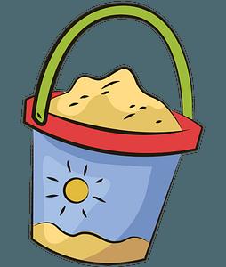 Sand Bucket clipart