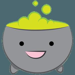 Cartoon cauldron clipart