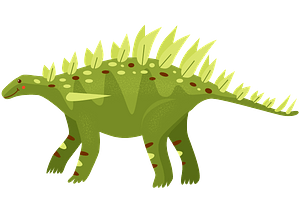 Huayangosaurus clipart