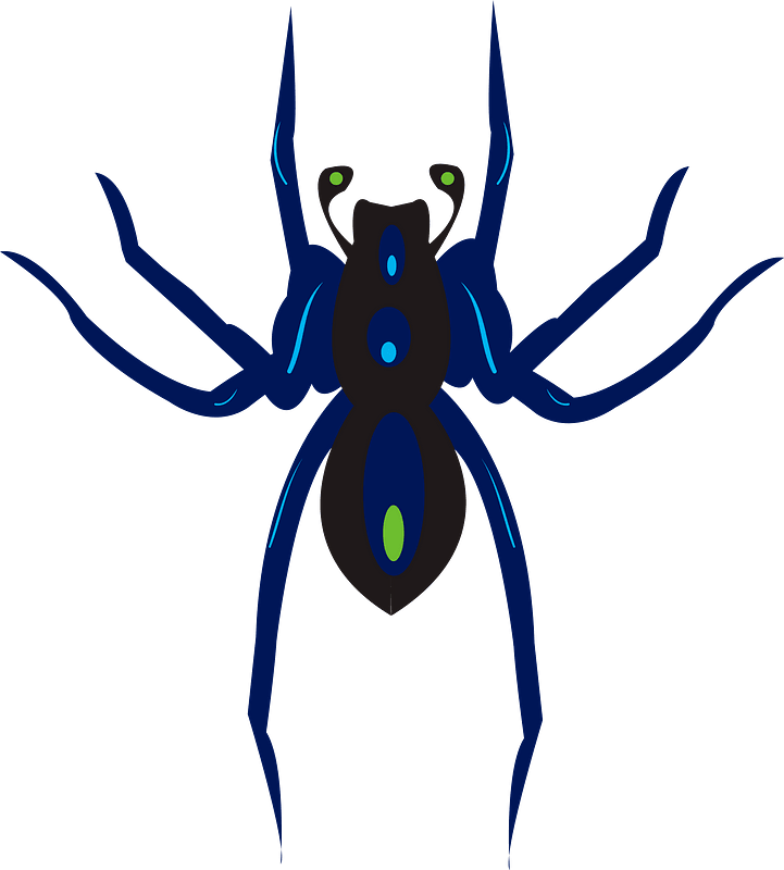Free Spider Cliparts, Download Free Clip Art, Free Clip Art on Clipart  Library