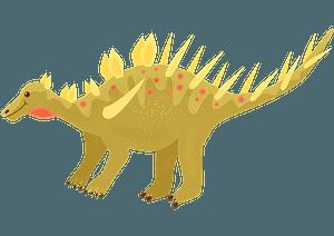 Kentrosaurus clipart