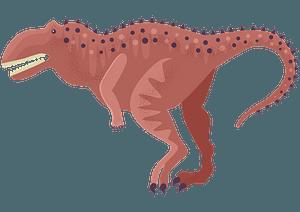 Majungasaurus clipart