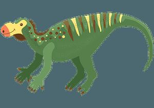 ムッタブラサウルスのクリップアート