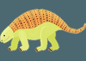 ノドサウルスのクリップアート