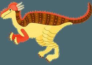 パキケファロサウルスのクリップアート