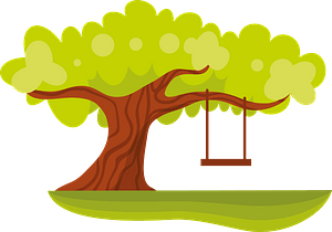 Large green tree clipart