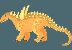 Sauropelta clipart