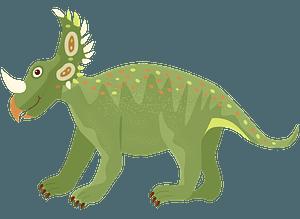 シノケラトプスのクリップアート