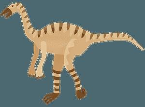 Struthiomimus clipart